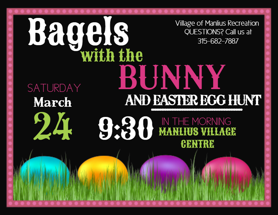 Bagels with the Bunny Flier